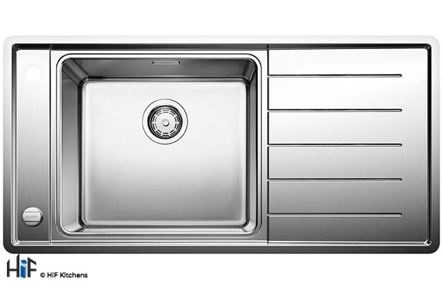 Blanco 522999  Andano XL 6 S-IF Compact Sink BL467840 supplied by HiF Kitchens