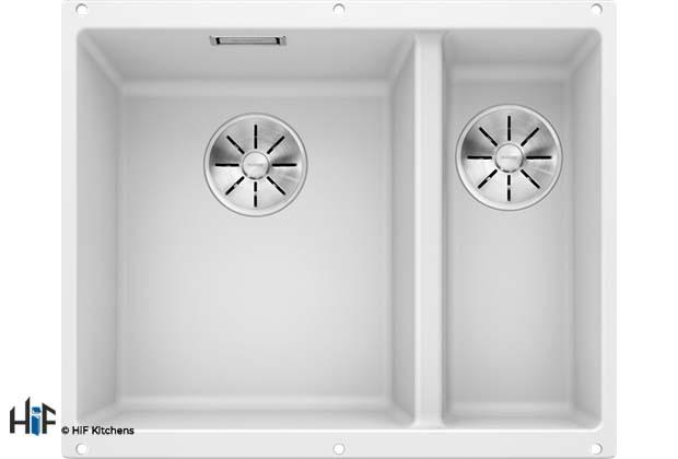 Blanco 523562 Subline 340/160-U Sink supplied by HiF Kitchens