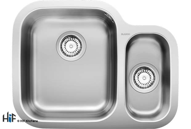 Blanco 452316 Supreme 533-U Sink Stainless supplied by HiF Kitchens