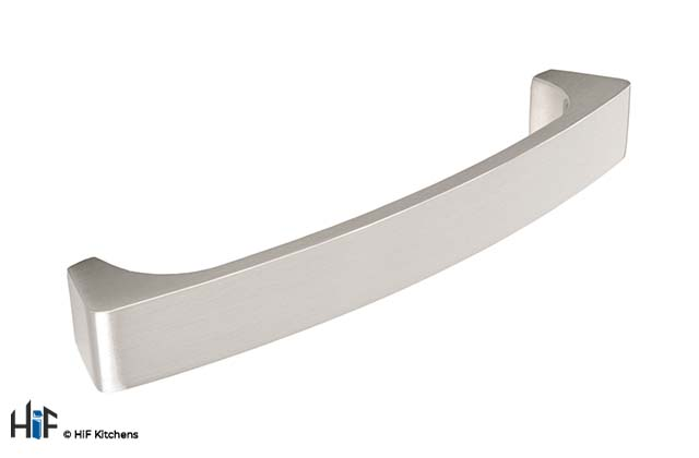 H334.128.SS Burton Bow Handle Stainless Steel Effect