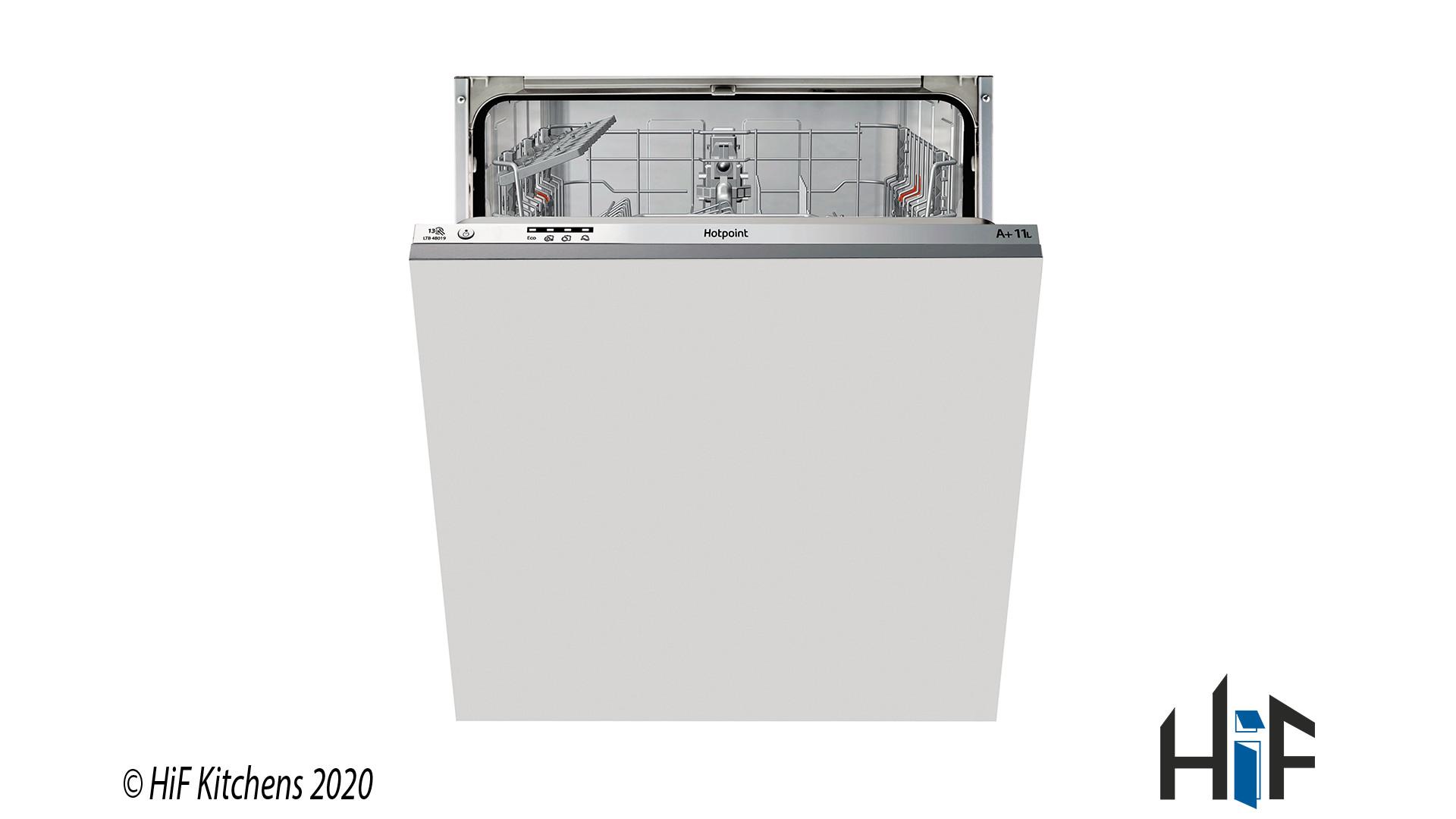 Hotpoint LBT4B019 60cm Integrated Dishwasher