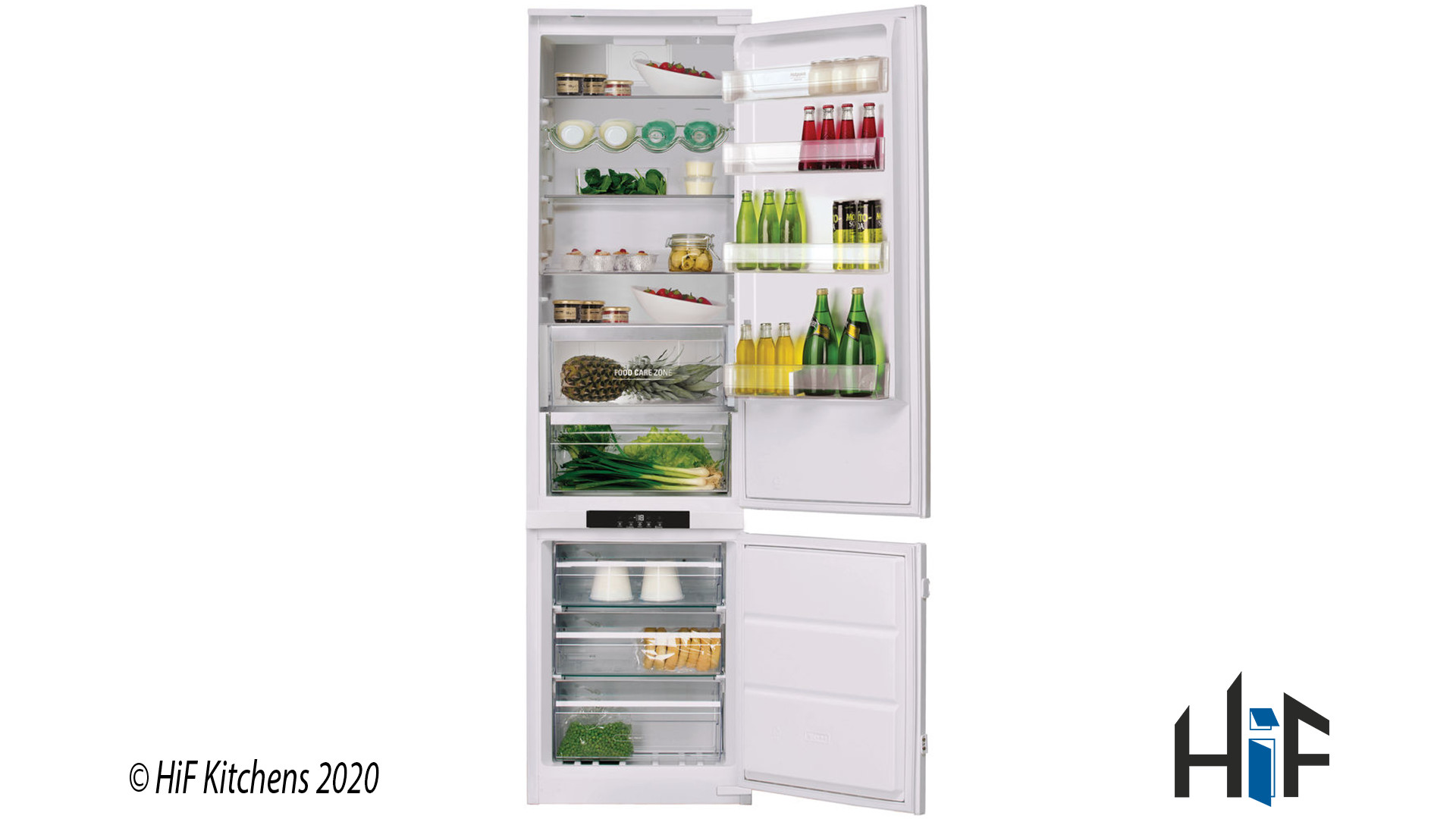 Hotpoint Day1 BCB 8020 AA F C.1 Integrated Fridge Freezer