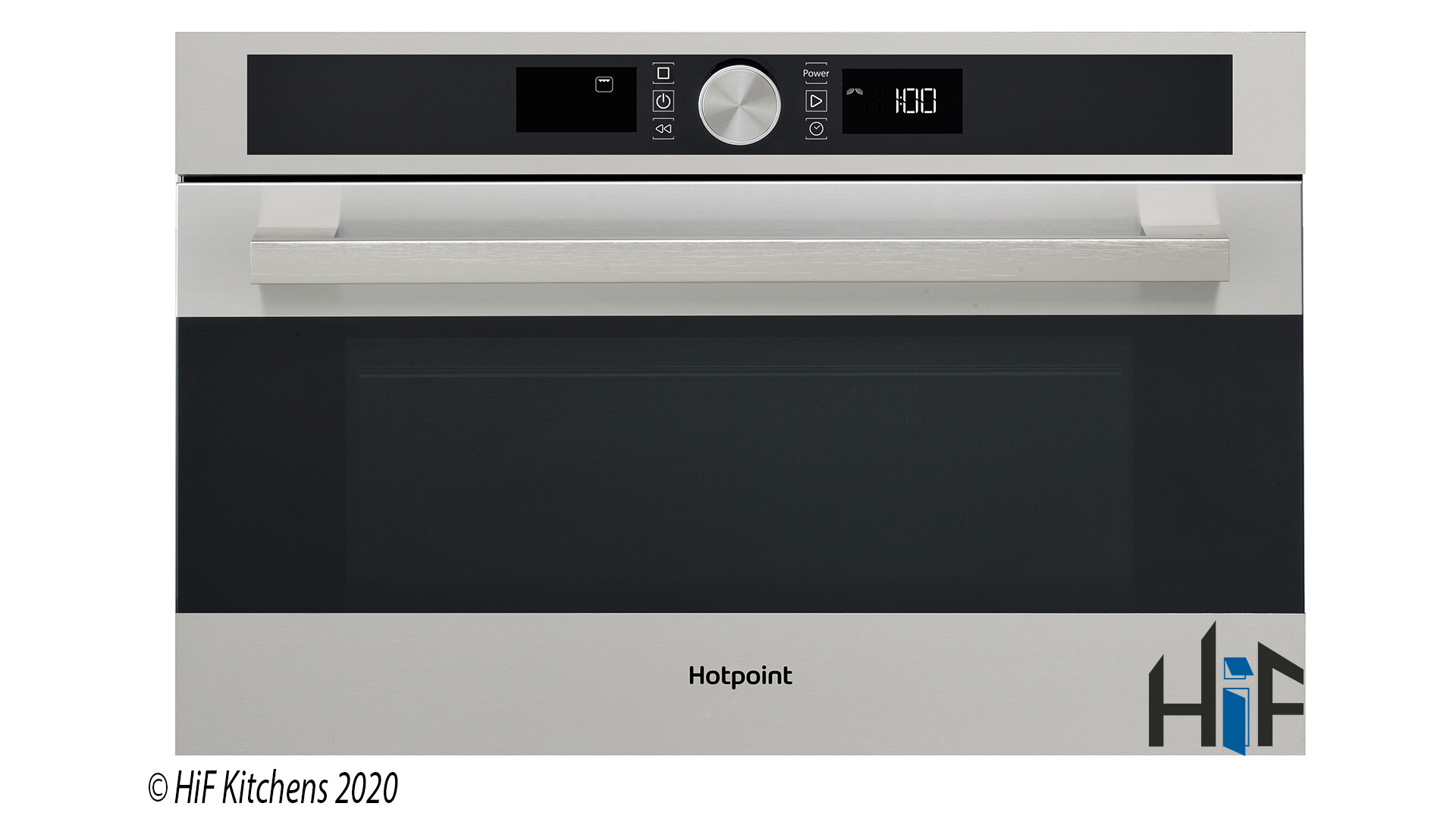 Hotpoint MD554IXH Built-In Microwave - Stainless Steel