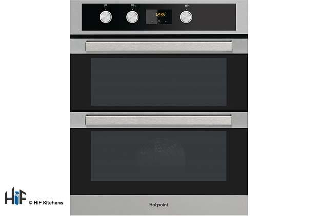 Hotpoint Built Under Double Oven DKU5 541 J C IX