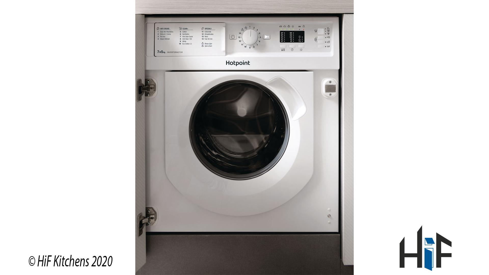 Hotpoint BI WDHL 7128 UK Integrated Washer Dryer