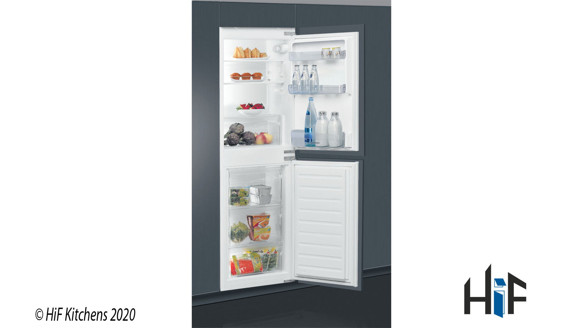 Indesit IB5050A1D Integrated Fridge Freezer