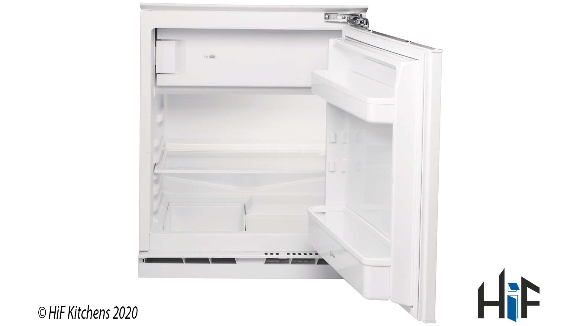 Indesit IFA1.1 Built Under Integrated Fridge supplied by HiF Kitchens