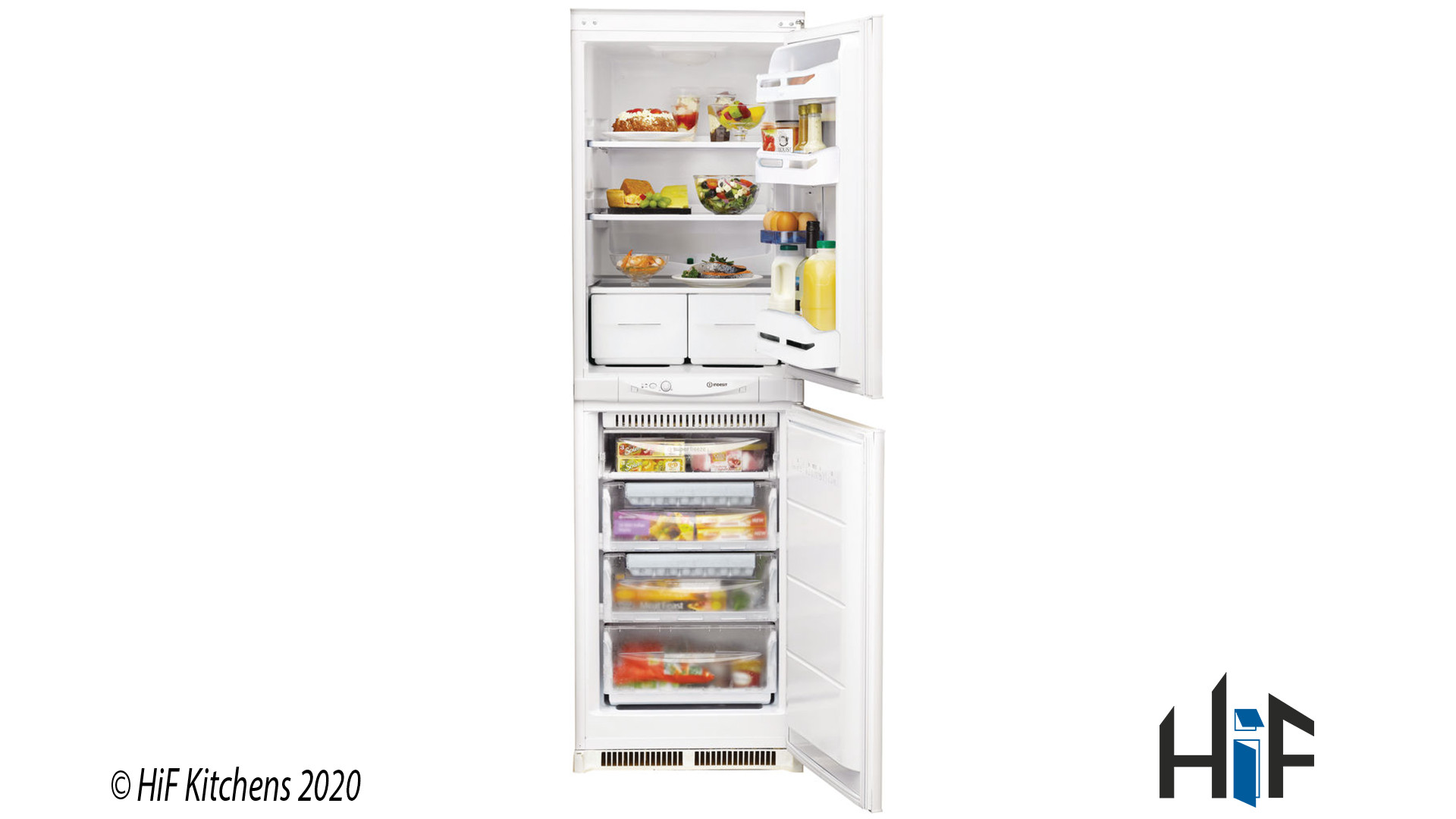 Indesit INC325FF1 Integrated Fridge Freezer