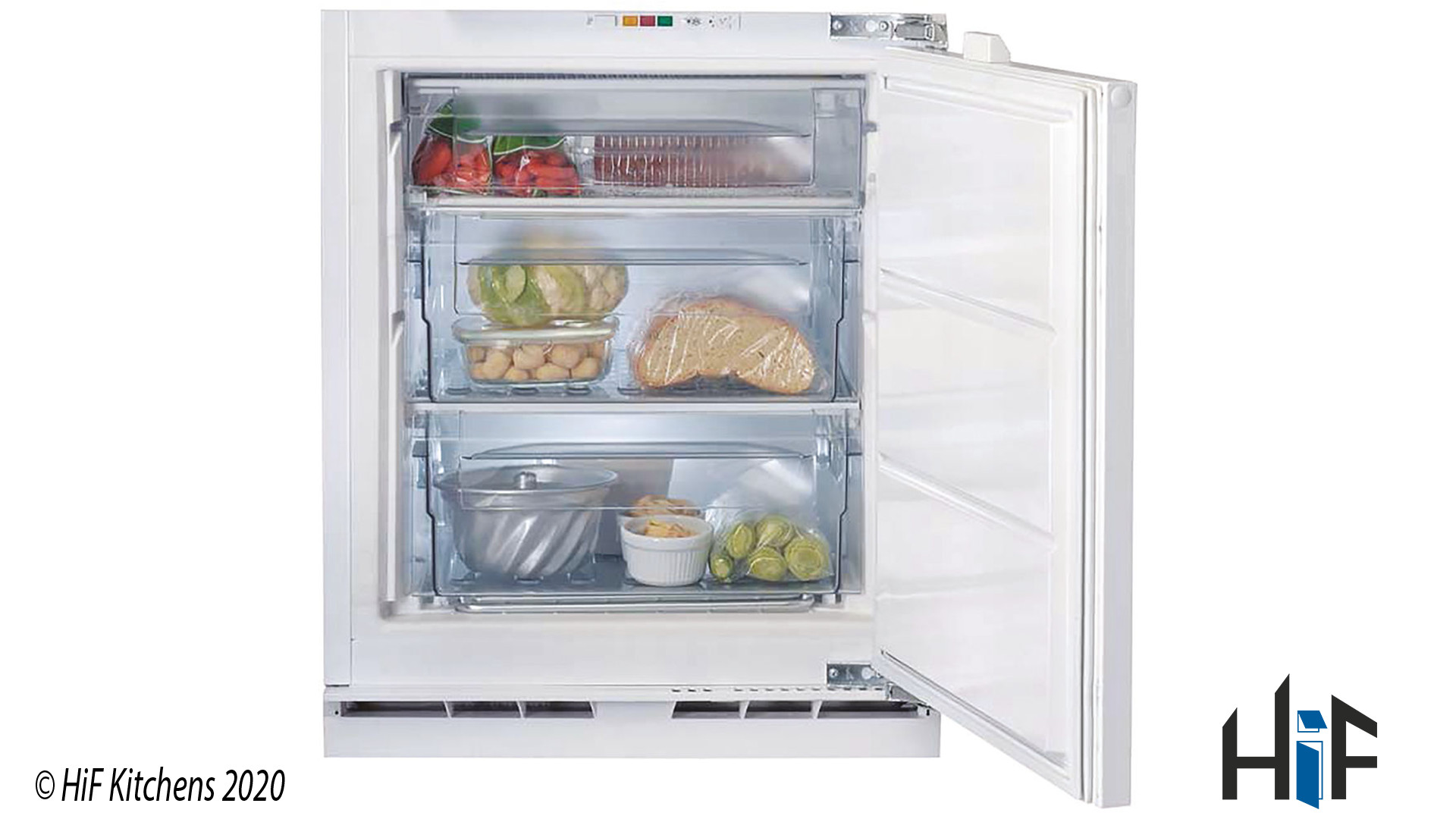 Indesit IZ A1.UK.1 Integrated Freezer In White supplied by HiF Kitchens