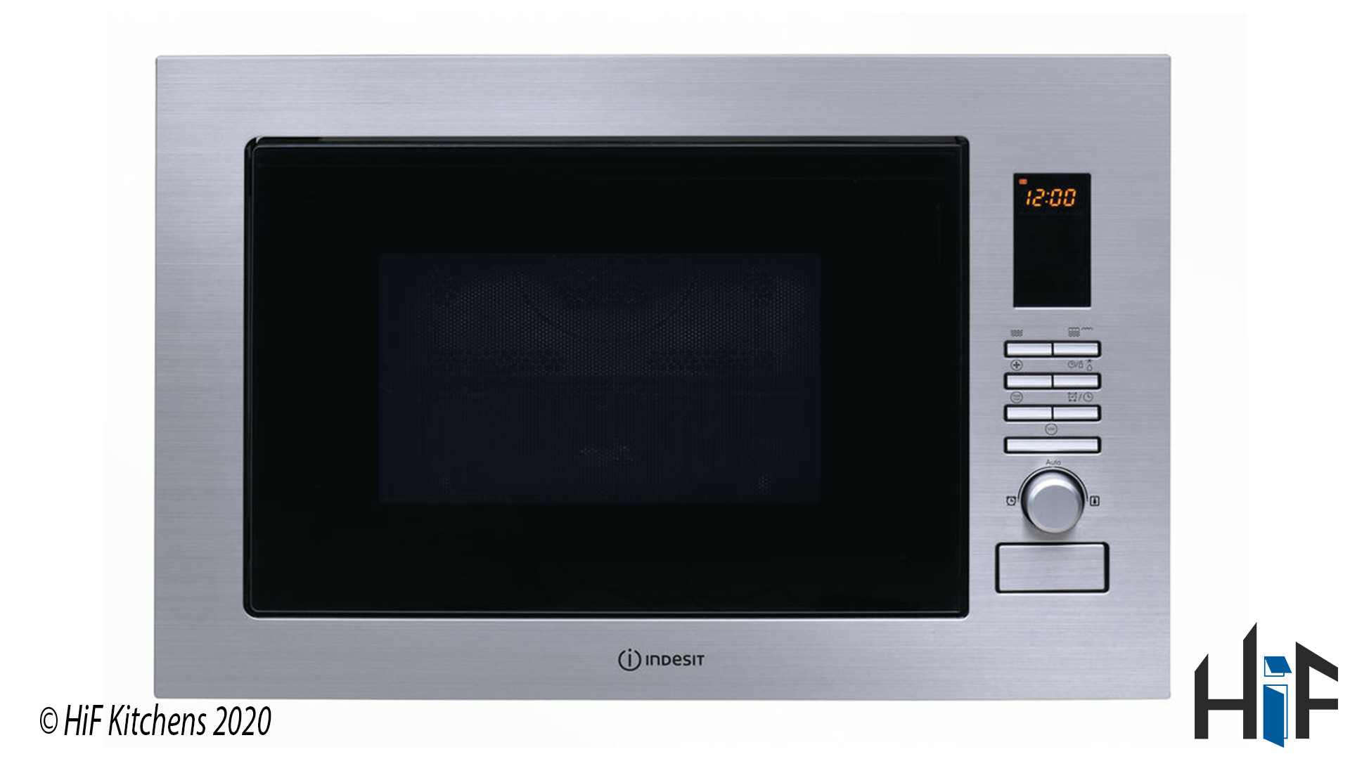 Indesit MWI222.2X Built-in Microwave supplied by HiF Kitchens