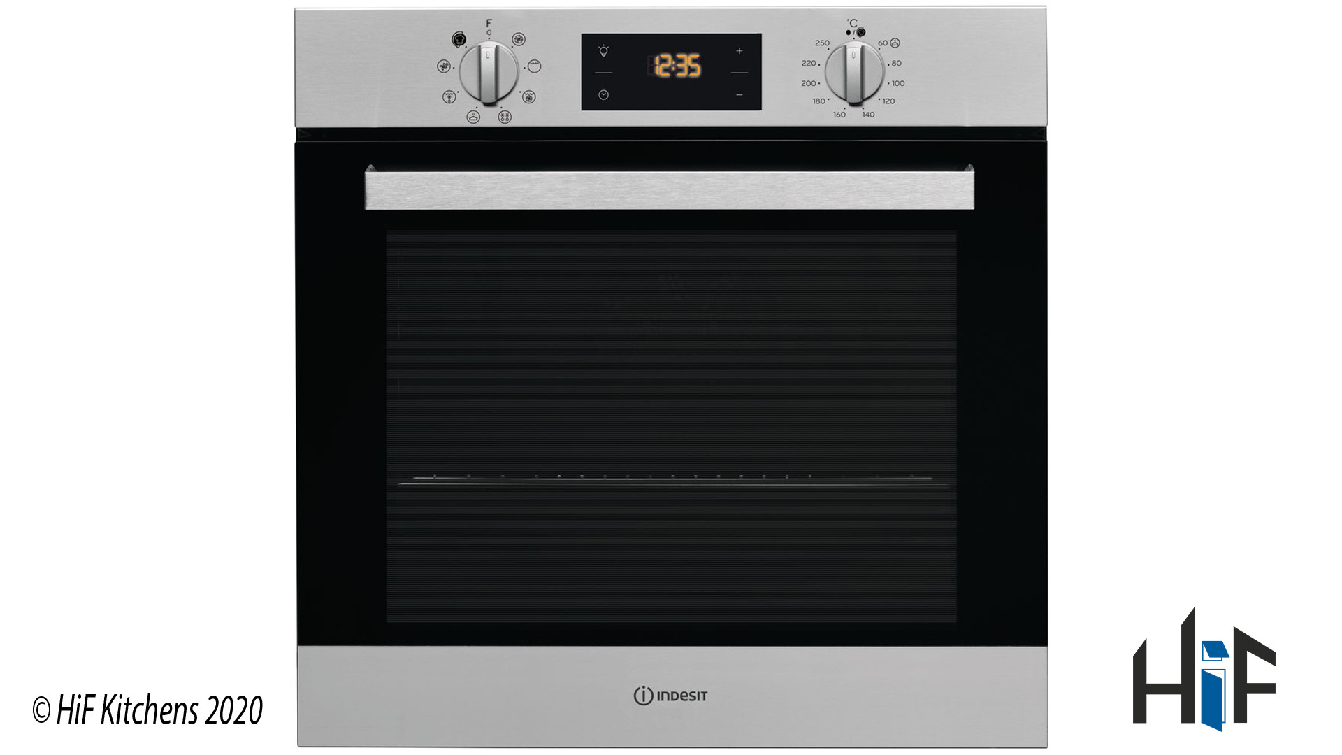 Indesit Aria IFW6340IXUK Single Oven