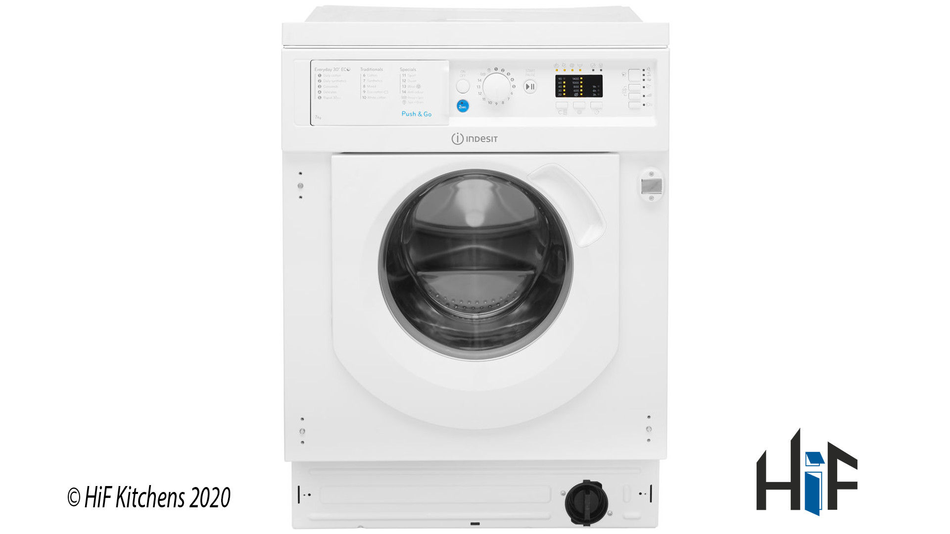 Indesit Ecotime BI WMIL 71452 UK Integrated Washing Machine