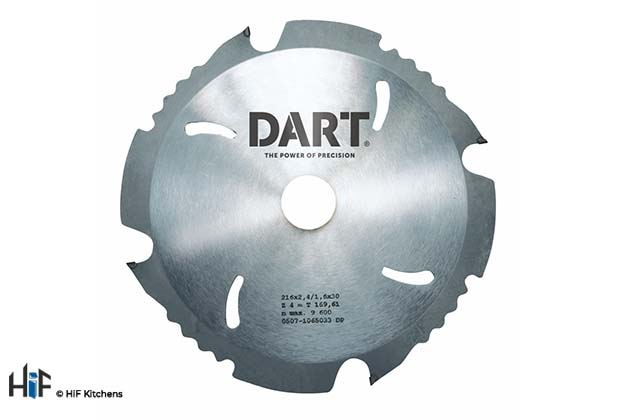 View our DART PCD Fibre Cement Saw Blade by HiF Kitchens