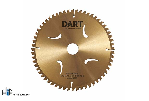 View our Dart Gold Aluminium-Plastic-Laminate Saw Blades by HiF Kitchens