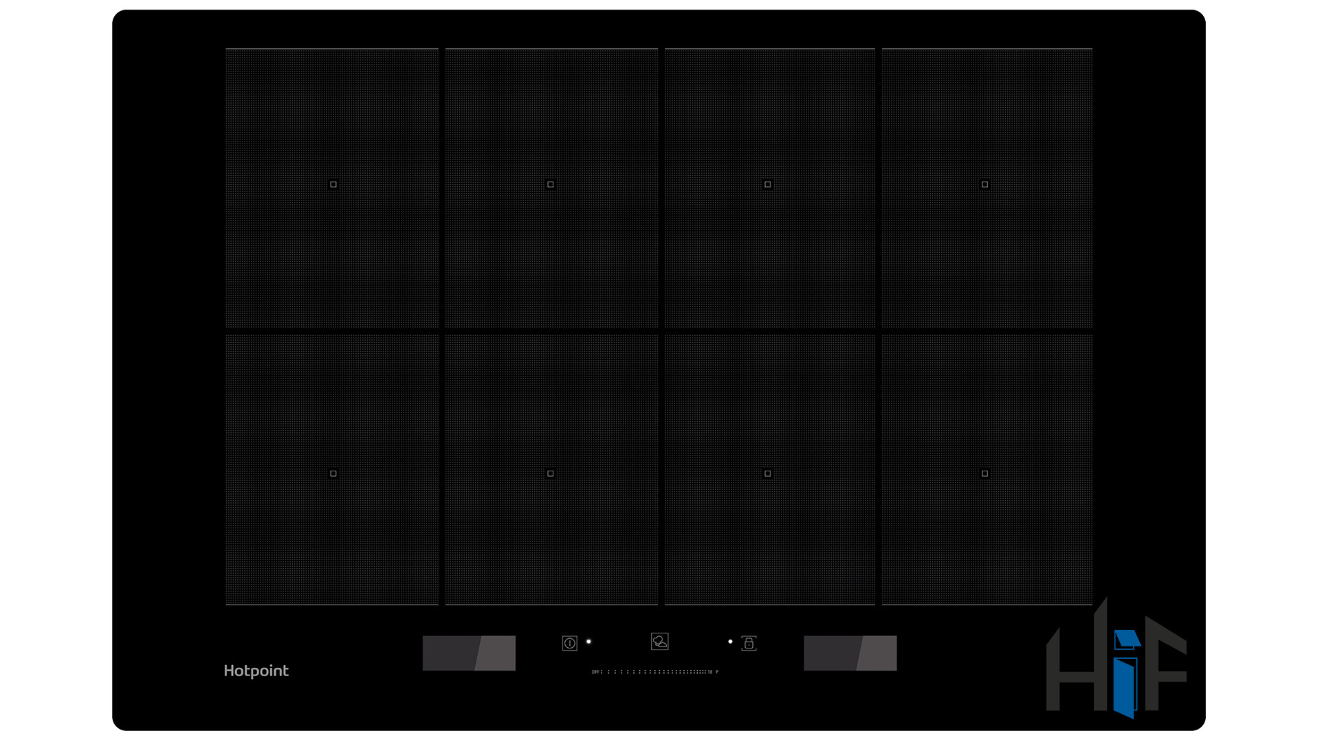 Hotpoint ACP778CBA 77cm Flex Pro Induction Hob
