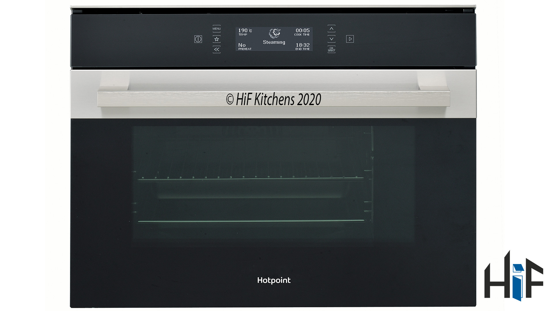 Hotpoint MS998IXH Compact Steam Oven