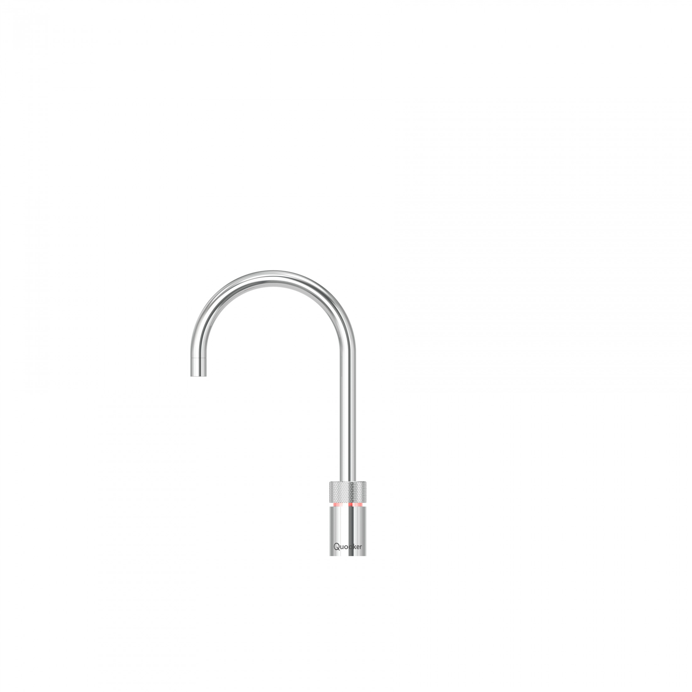 Quooker Nordic Round Chrome Instant Boiling Water Kitchen Tap 3NRCHR