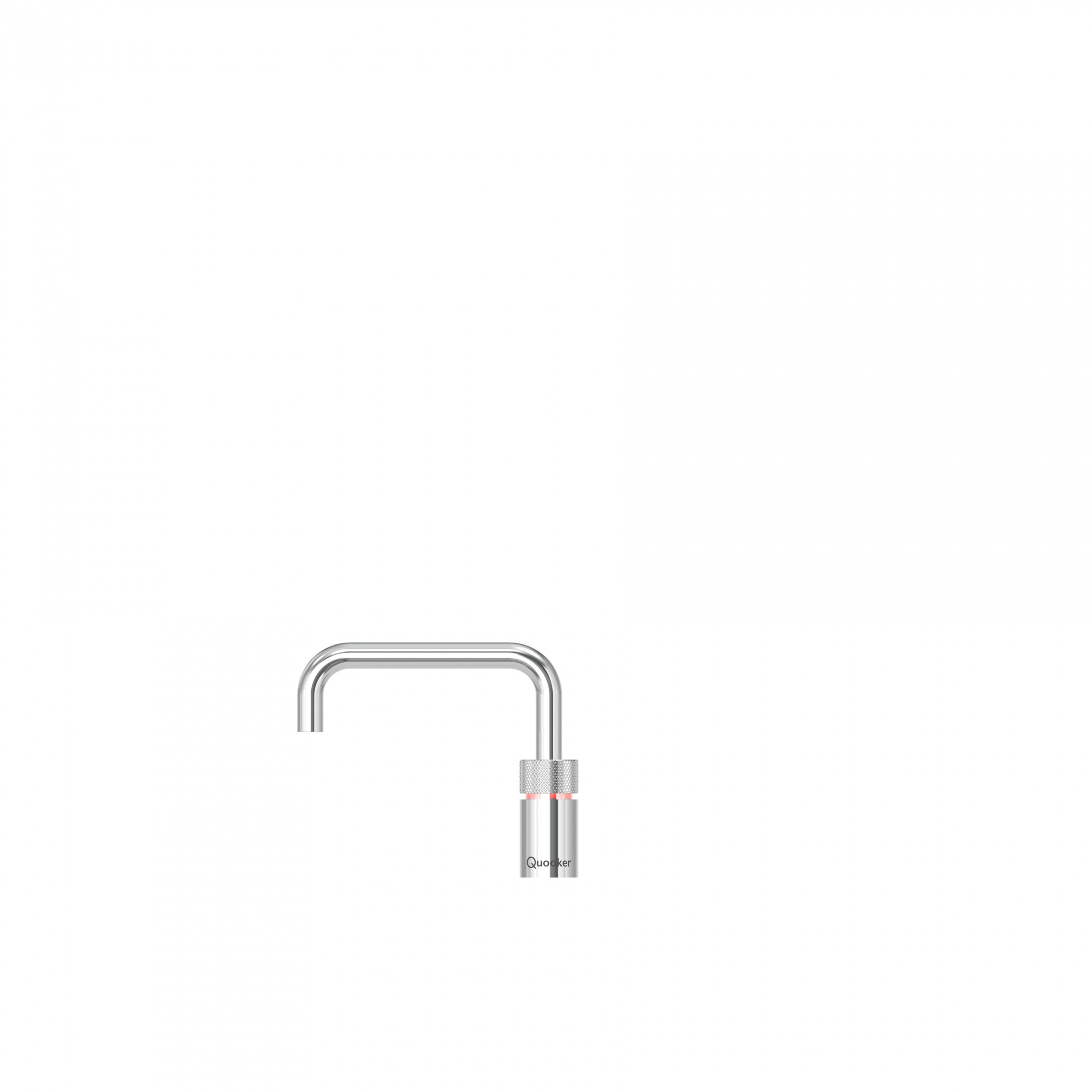 Quooker Nordic Square Instant Boiling Water Kitchen Tap 3NSCHR