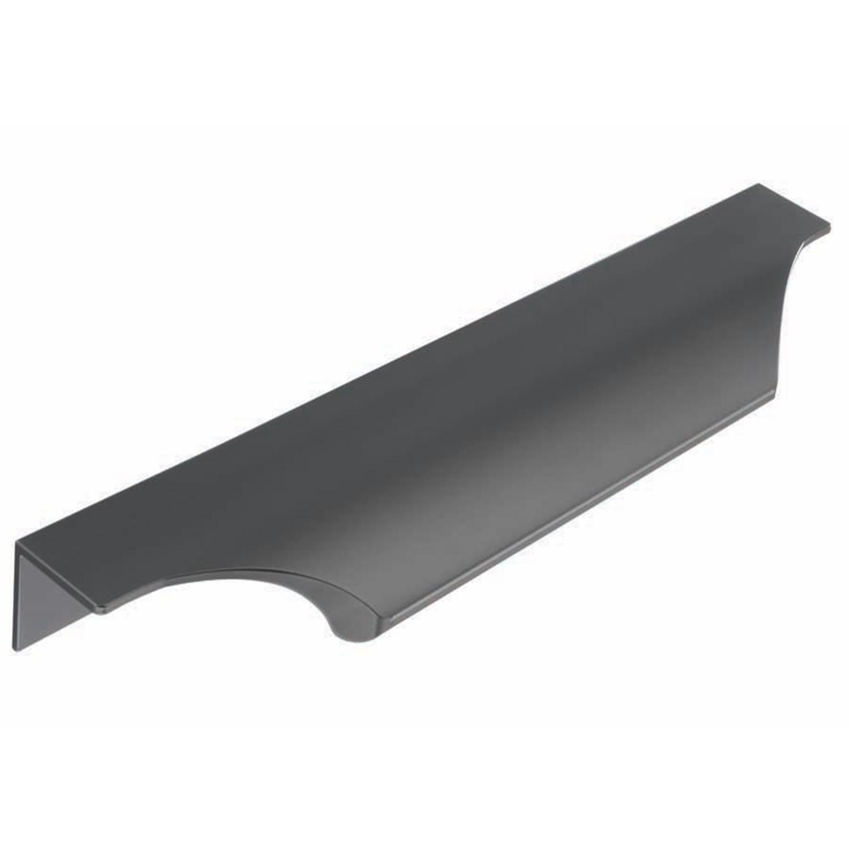 H1088.160.BS Trim Handle Teardrop Square 200mm Black Satin