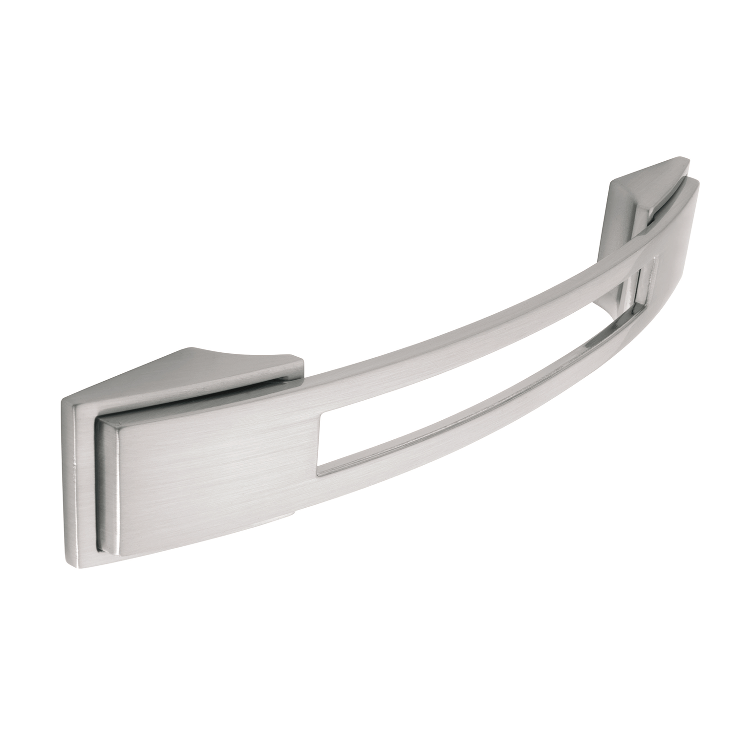 H589.128.SS Kitchen Bow Handle Stainless Steel Effect
