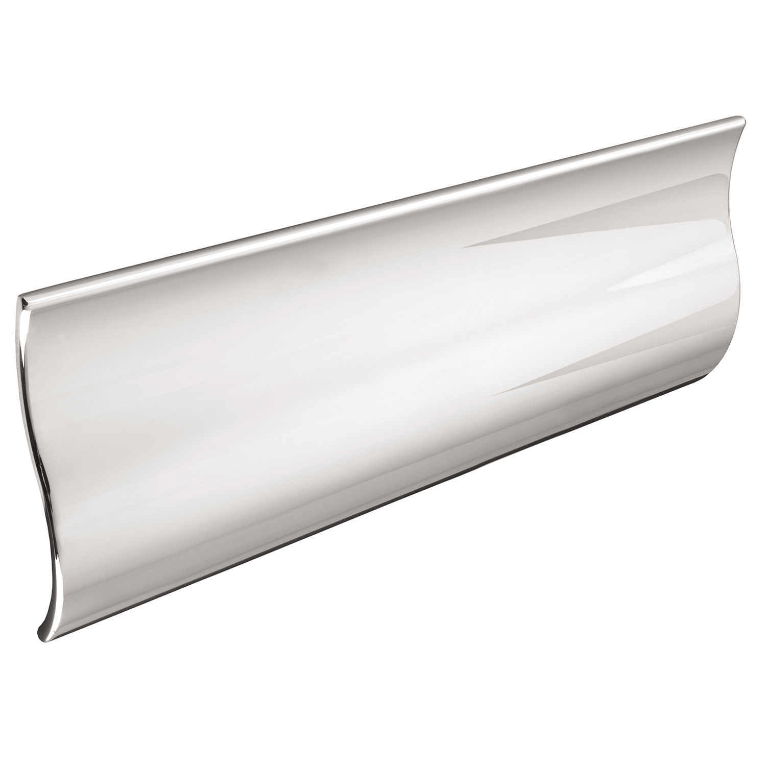 H756.128.CH Wave Pull Handle 128mm Chrome Effect