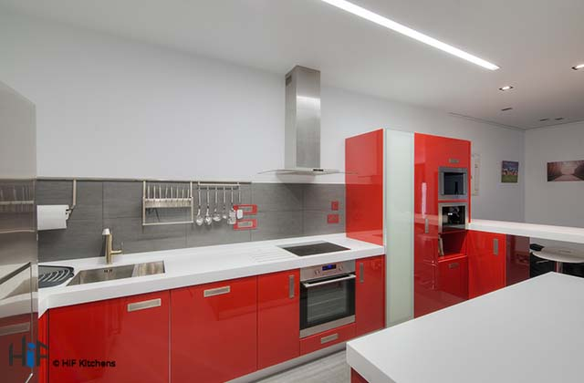 The Pros and Cons of a Gloss Kitchen Finish Blog by HiF Kitchens