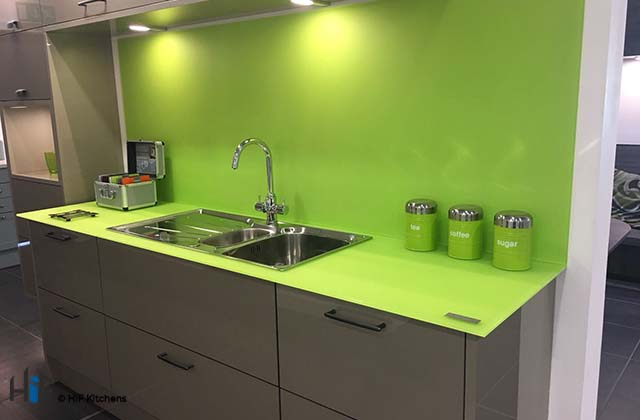 Glass Worktops - The Pros and Cons Blog by HiF Kitchens