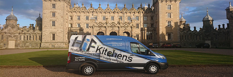 HiFKitchens installing a kitchen in Kelso