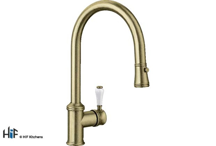 Blanco Vicus Single Lever Chrome Kitchen Tap 524287 Image 2