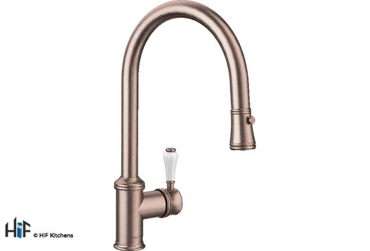 Blanco Vicus Single Lever Chrome Kitchen Tap 524287 Image 4