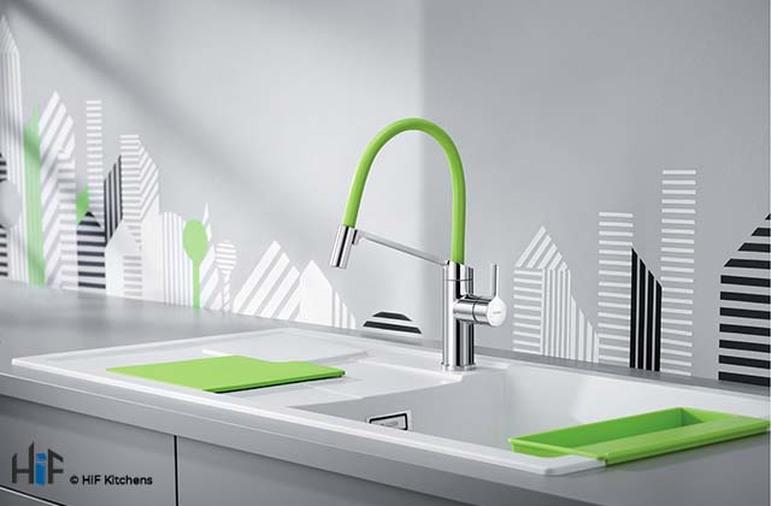 Blanco Viu-S Chrome Kitchen Tap 524813 Image 9