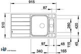 Blanco 522103 Axis III 5 S-IF Sink BL468104 Image 6 Thumbnail