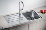 Blanco 454795 Lemis 45 S-IF Sink Stainless Image 2 Thumbnail