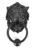 Black Lion Head Knocker Image 1 Thumbnail