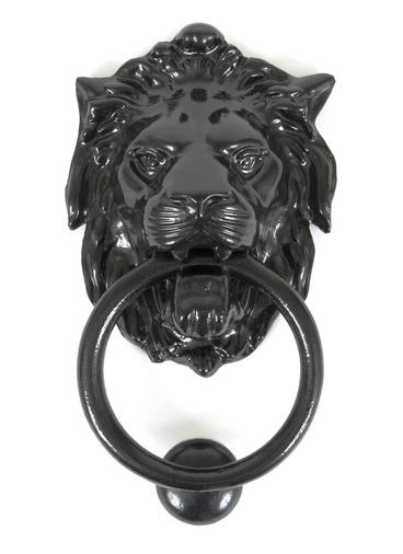 Black Lion Head Knocker Image 1