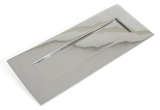 Polished Chrome Small Letter Plate Image 1 Thumbnail
