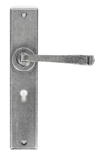 Pewter Large Avon Lever Lock Set Image 1