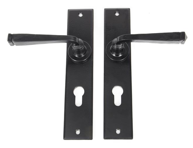 Black Large Avon 72mm Centre Euro Lock Set Image 2