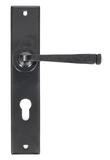 Black Large Avon 72mm Centre Euro Lock Set Image 1 Thumbnail