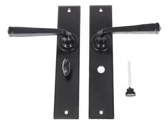 Black Large Avon Lever Bathroom Set Image 4