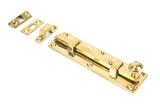 Polished Brass 6'' Universal Bolt Image 1 Thumbnail
