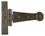 Beeswax 4'' Penny End T Hinge (pair) Image 1 Thumbnail