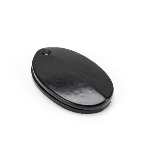 Black Oval Escutcheon & Cover Image 1