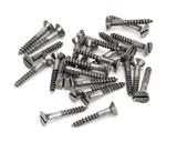 Pewter 6 x 1'' Countersunk Screws (25) Image 1 Thumbnail