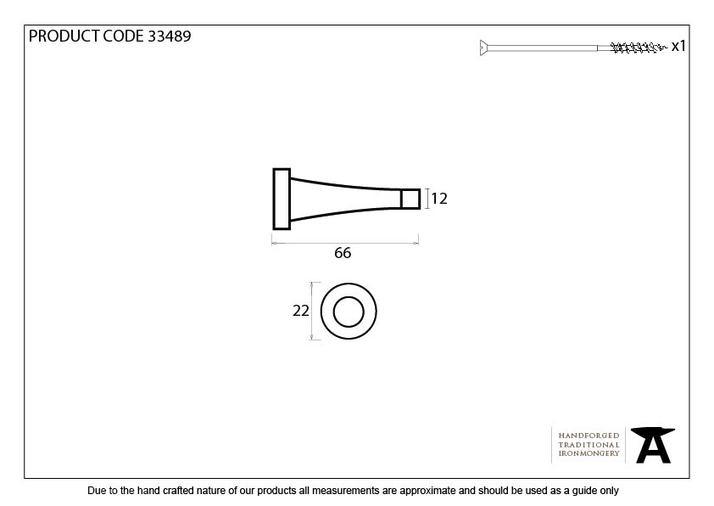 Beeswax Projection Door Stop Image 2