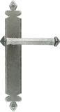 Pewter Tudor Lever Latch Set Image 1 Thumbnail