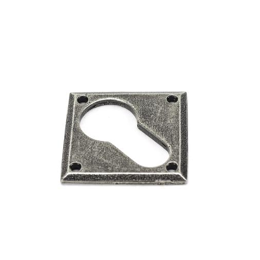 Pewter Diamond Euro Escutcheon Image 1
