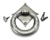 Pewter Ring Door Knocker Image 3 Thumbnail