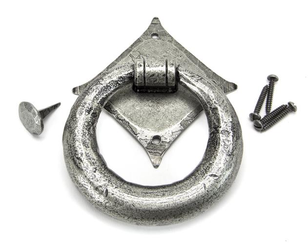 Pewter Ring Door Knocker Image 3