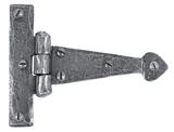 Pewter 4'' Arrow Head T Hinge (pair) Image 1 Thumbnail